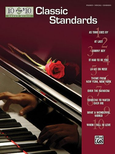 10 for 10 Sheet Music Classic Standards: - Vie Rose Music Sheet