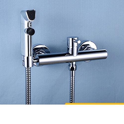 delicate toilet spray gun suit/ bidet nozzle/Hot wash/ copper body cleaner-A