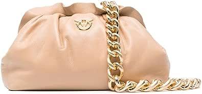 1P22BG.Y7FQ C61 Beige - Bolso de piel para mujer
