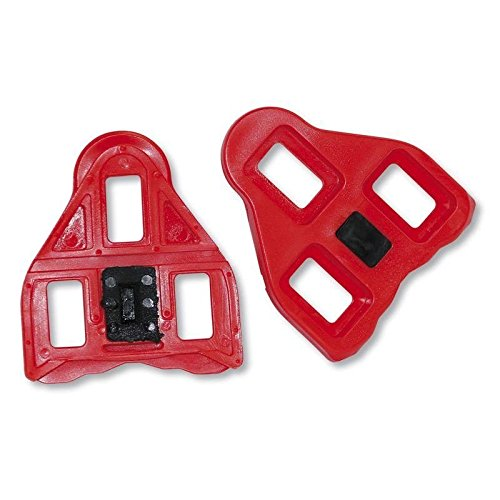 2e72d919b Roto Look Delta Compatible Road Bike Pedal Cleats Red 9 Degree Float