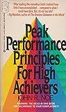 Peak Performance/high, John R. Noe, 0425086488