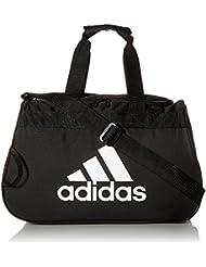 Adidas Gear Up Diablo Small Duffel Bag Black/Grey Logo