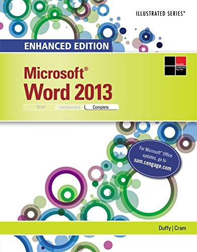 Enhanced Microsoft Word 2013: Illustrated Complete (Microsoft Office 2013 Enhanced Editions) Pdf