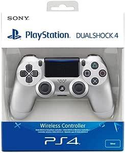 Sony - Mando Inalámbrico Dualshock 4 V2, Color Plata (PS4): Amazon ...