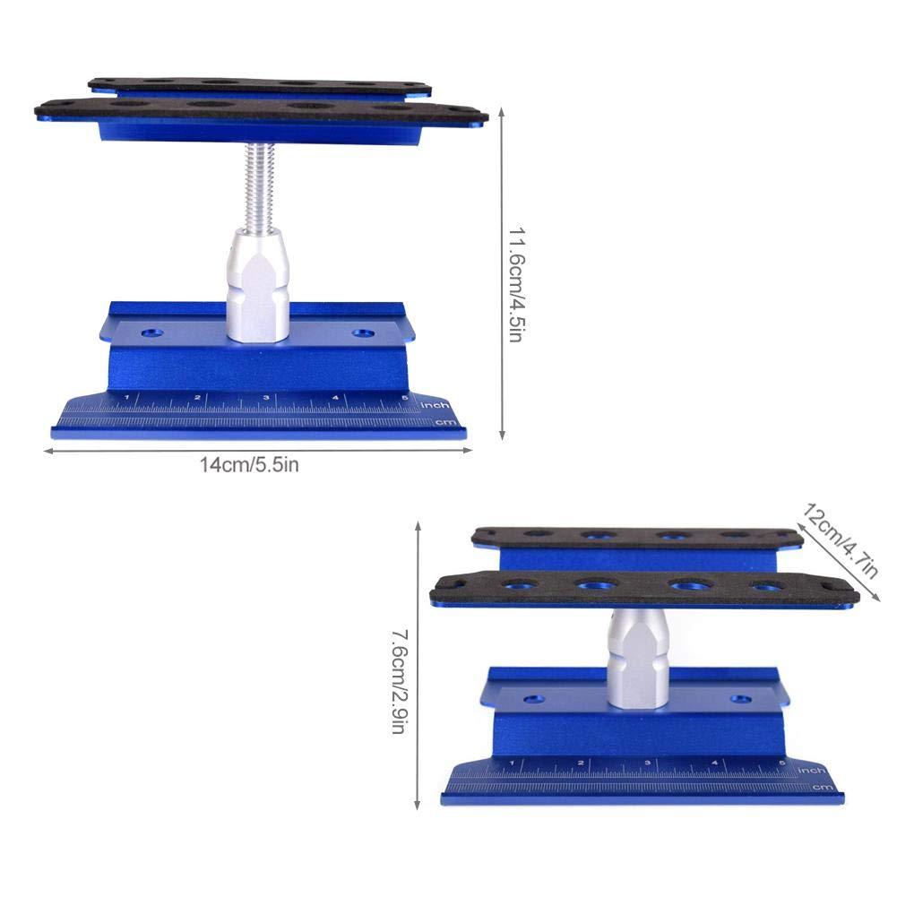 Alluminio Supporto per riparazione auto Piattaforma di montaggio Utensili di riparazione Traxxas Slash 4x4 2WD RC4WD D90 Redcat Volcano Epx Revo 3.3 Gen7 E-Revo Trx-4 Axial SCX10