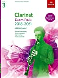 Clarinet Exam Pack 2018-2021, ABRSM Grade 3: Selected from the 2018-2021 syllabus. Score & Part, Audio Downloads, Scales & Sight-Reading