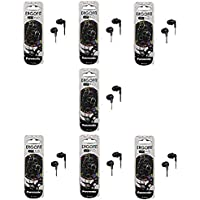 Panasonic ErgoFit In-Ear Earbud Headphones - 7 Pack (Black)