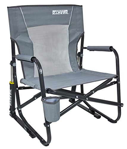 Arm Rocking Chair - GCI Outdoor FirePit Rocker Portable Folding Low Rocking Chair