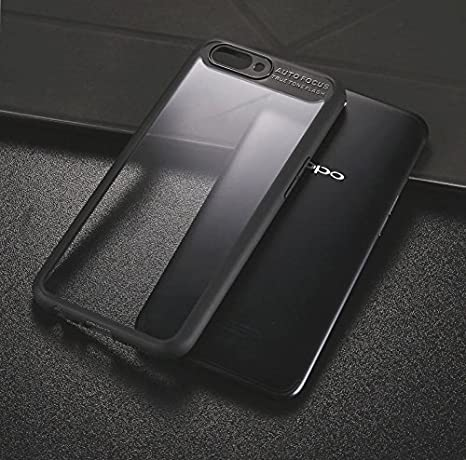 buy popular 46640 6c04a CASE Mantra Soft Silicone Frame Hard Transparent Back: Amazon.in ...