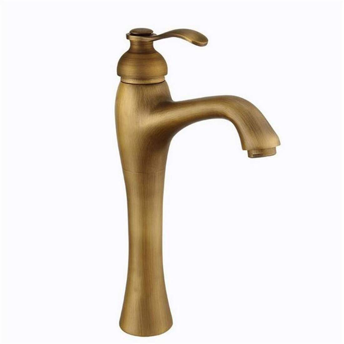Retro Tap Modern Luxury Vintage Platingfaucet Antique Basin Faucet Hot and Cold Water Tap Bathroom Sink Faucets