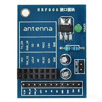 para Kits Arduino Nrf905 Placa inalámbrica zócalo del módulo de ...