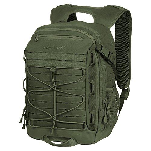 PENTAGON Borsa Borsone Zaino militare uomo donna campeggio KRYER Back Pack Olive