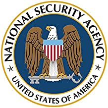 National Security Agency NSA Sticker Decal Self Adhesive Vinyl covert FA Vinyl