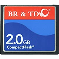 Compact Flash memory card BR&TD ogrinal camera card 2GB