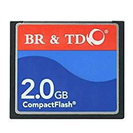 Compact Flash memory card BR&TD ogrinal camera card (2gb) 99 Speeds up to 50MB/s for ultra performance You can be confident in the good quality, performance and reliability of our brand Product Reliability from the brand trusted by pros