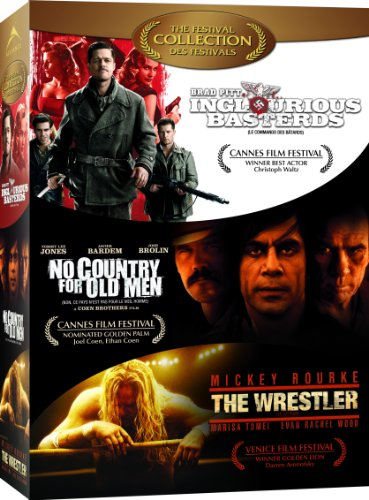 Inglourious Basterds / The Wrestler / No Country for Old Men (Quentin Tarantino No Country For Old Men)