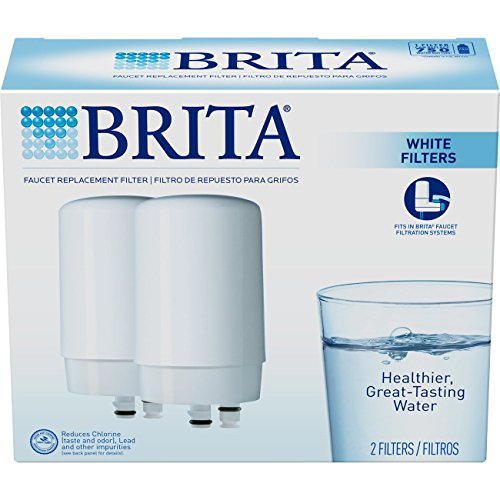 Brita Faucet Water Filter System, Replacement Filters