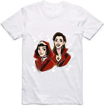 Tokyo and Nairobi from La Casa De Papel T-shirt for Men XL