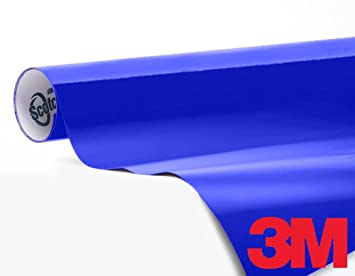 Amazon.com: 3M 1080 Gloss Cosmic Blue Air-Release Vinyl Wrap Roll ...