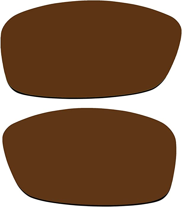 510ac32e62 Replacement Polarized Lenses for Oakley Hijinx Sunglasses (Bronze Brown)