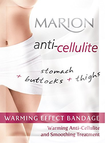 (Marion Cellulite Serum Hot Bandage Wrap for Stomach Buttocks and Thighs)