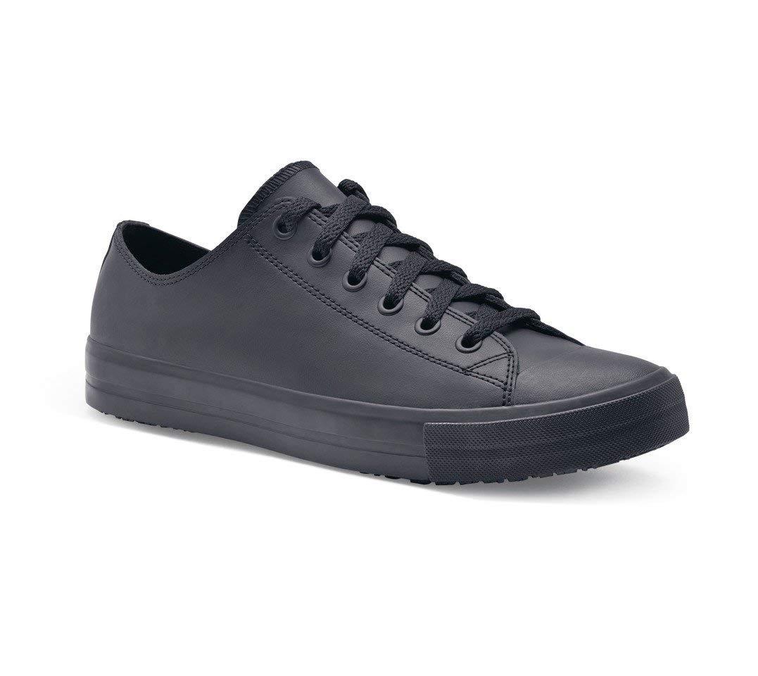 Zapatillas para Crews 38649-44/9.5 DELRAY Zapatos de piel casual para hombre, antideslizante, talla 9.5 UK, color negro