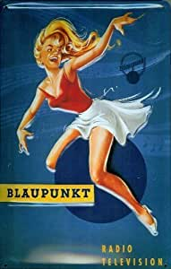 Blaupunkt embossed steel sign (hi 3020)