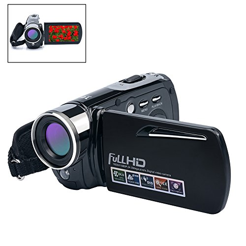 Digital Camera Camcorders Comi HD Recorder 1080P 24 MP 16X P
