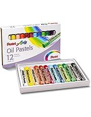 Pentel phn-12 Pentel Arts yağlı pasta, çok renkli