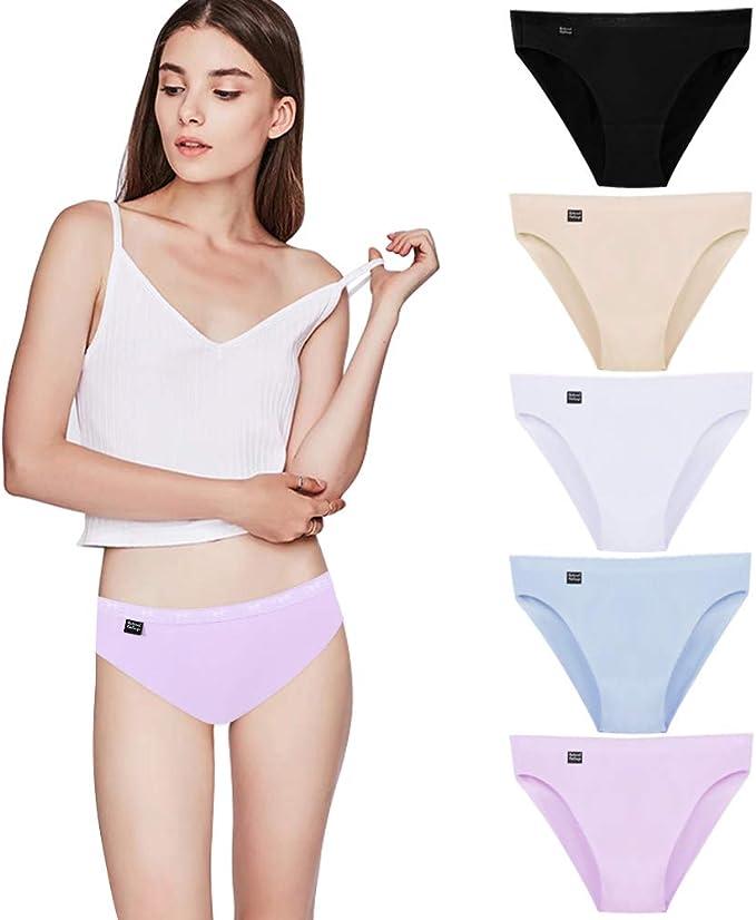 Lovemist - Bragas de bikini para mujer (algodón, talla 5/3/1 ...
