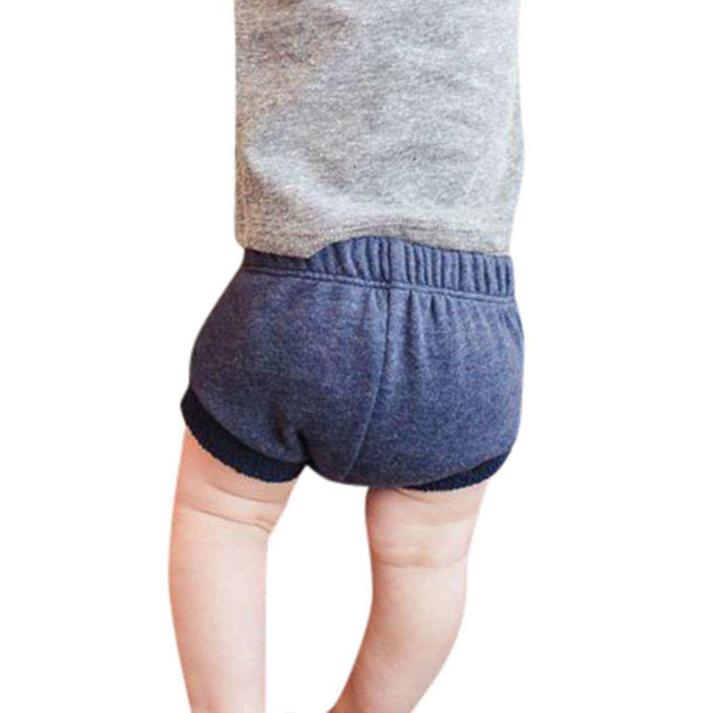 Allence Kinder-Shorts Sommer Shorts Baby Jungen M/ädchen Short Elastische Taille Streifen Kurze Hose