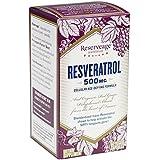 Reserveage - Resveratrol 500mg, Cellular Age-Defying Formula, 60 Capsule