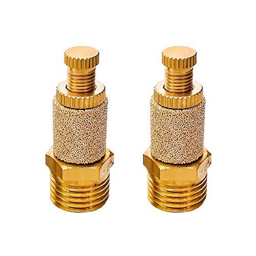 (Beduan PSB Pneumatic Muffler Silencer Filter Connector Air Flow Speed Controller Sintered Bronze 1/2