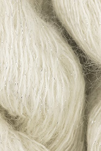 Artyarns - Silk Mohair Glitter Knitting Yarn - Natural/ Silver (# ()