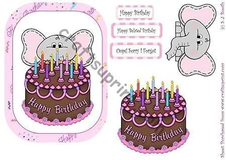 Ellie con una tarta de cumpleaños por Sally Booth: Amazon.es ...