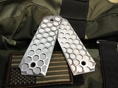Valkyrie Dynamics 1911 Government/Commander Full Size Grips Aluminum Duo Finish The Hive