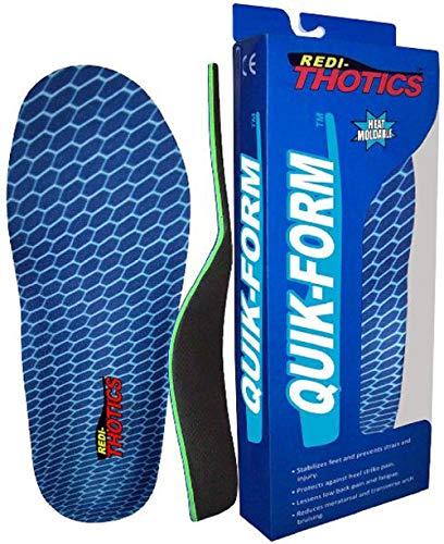 Redi-Thotics Quik-Form Heat Moldable Insoles (B - Men's 7-7.5 / Women's 8-8.5) in USA