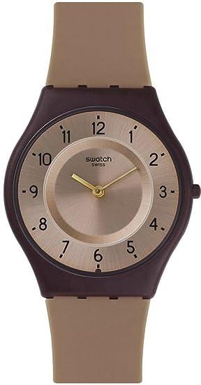 Swatch Reloj Digital para Mujer de Cuarzo con Correa en Plástico SFC106: Amazon.es: Relojes