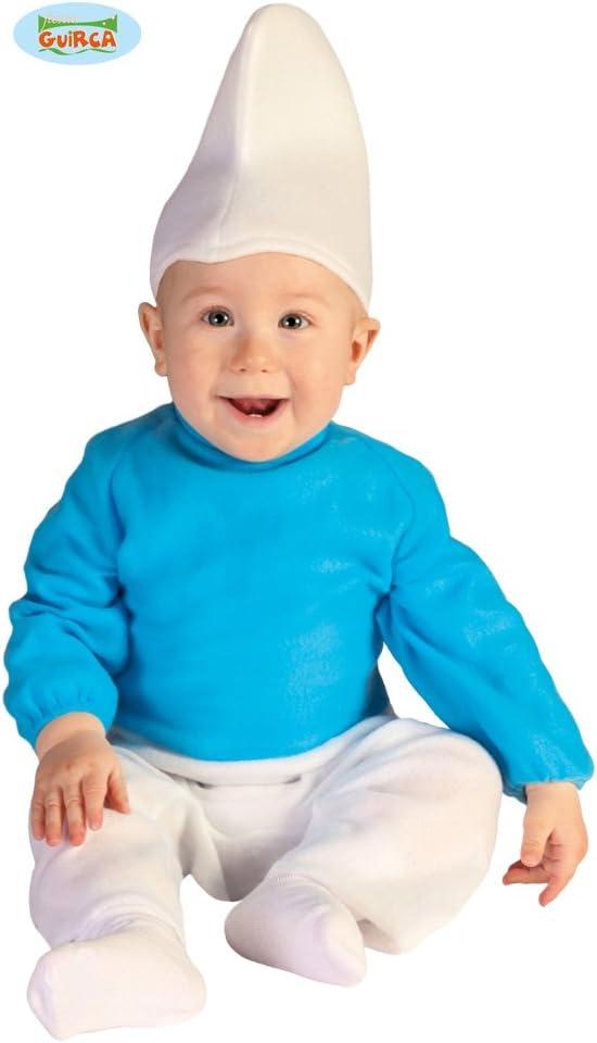 FIESTAS GUIRCA Disfraz Bebé - Enanito Azul 12-24 Meses: Amazon.es ...