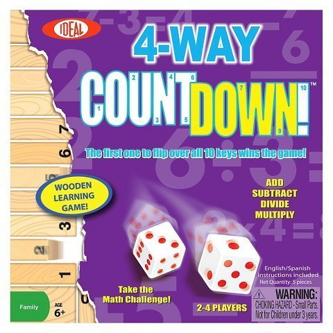 New 4-Way Count Down! Educational Game
