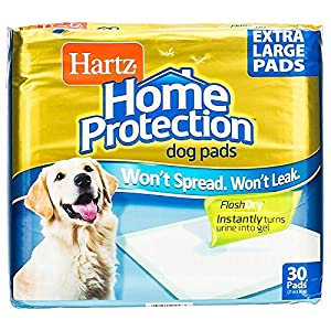 Hartz Home Protection Unscented Odor Eliminating Gel Dog Pads