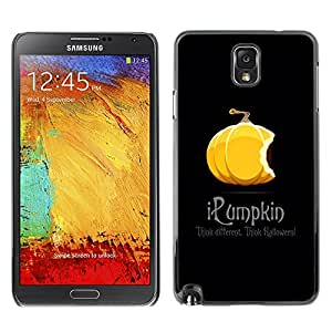 XYTE Slim Case Cover Backcover Frame Shell Samsung Galaxy Note 3 III // Halloween Funny iPumpkin //