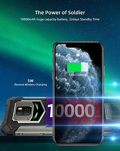 "Telephone Portable Incassable, DOOGEE S88 Pro Smartphone Incassable 4G, 10000 mAh,6.3""FHD, 6Go+128Go, 21MP + 16MP Caméra… 4"