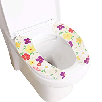 78300ff1ce92 daycount Pack de 2 Tapa de inodoro suave pasta de WC - asiento para ...