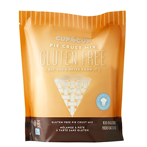 Cup4cup Gluten-Free Pie Crust Mix, 1 Pound
