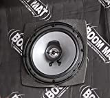 "Design Engineering 050351 Boom Mat Speaker Baffles, 4"" x 6"" Oval Slim"