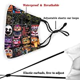 Five Nights at Freddy's Face Cover Reusable
