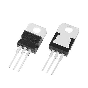 Regulador De Voltaje L7805cv L7805 paquete De 2 5 v 7805