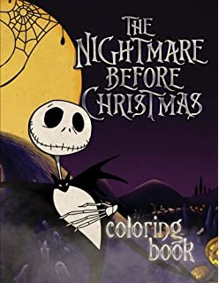 the nightmare before christmas coloring book - Nightmare Before Christmas Coloring Book