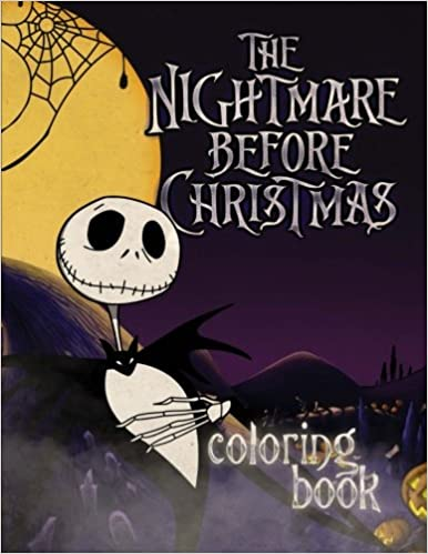 The Nightmare Before Christmas Coloring Book Jessie Ward